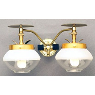 Wall Gas Lights : Falk 2705 Double Wall Indoor Gas Light