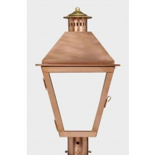 American Gas Lamp Copper Atlanta Gas Light
