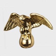 Gas Light Brass Eagle Finial F06