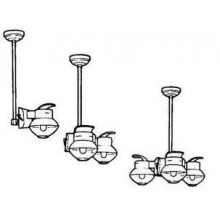 Humphrey OPK Gas Light Pendant Kit