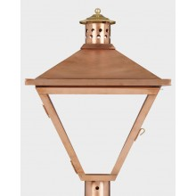 American Gas Lamp Copper Hunter Gas Light