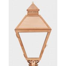American Gas Lamp Copper Piedmont Gas Light