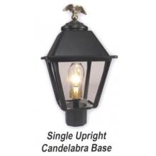 Single Upright Candelabra Base Gas Light Conversion Kit ESUK