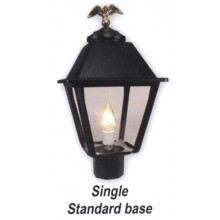Electric Edison Base Gas Light Conversion Kit ESSB