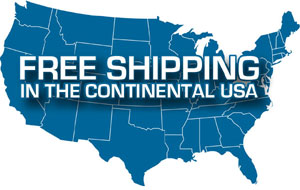 Free Shipping in the Contiguous 48 states