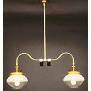 Falk 2707 double ceiling indoor gas light falk double ceiling gas light 2707 aloadofball Choice Image