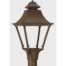 American Gas Lamp Essex 1900 Outdoor Gas Light