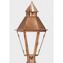 American Gas Lamp Copper Hall Gas Light