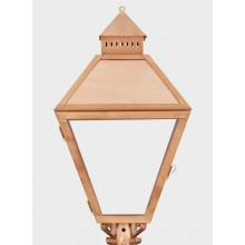 American Gas Lamp Copper Piedmont Gas Light