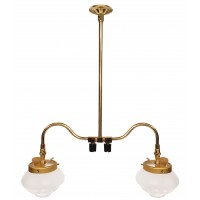 Falk Double Ceiling Gas Light 2707