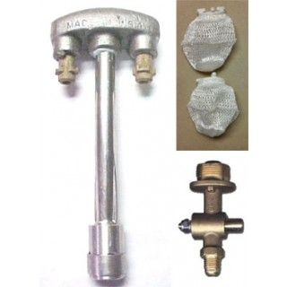 Gas Light Dual Inverted Burner Kit DMI-K