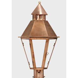 American Gas Lamp Copper Hall Gas Light