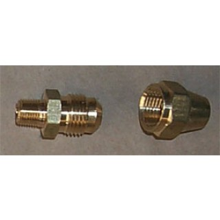 "Humphrey L22-10A Gas Light Connector 1/4"" Flare"