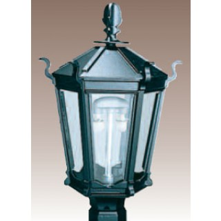 MHP WK5A Outdoor Post Mount Gas Light